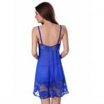 Women Lingerie Lace Sleepwear Strap Chemise Halter Nightwear Mesh Outfits